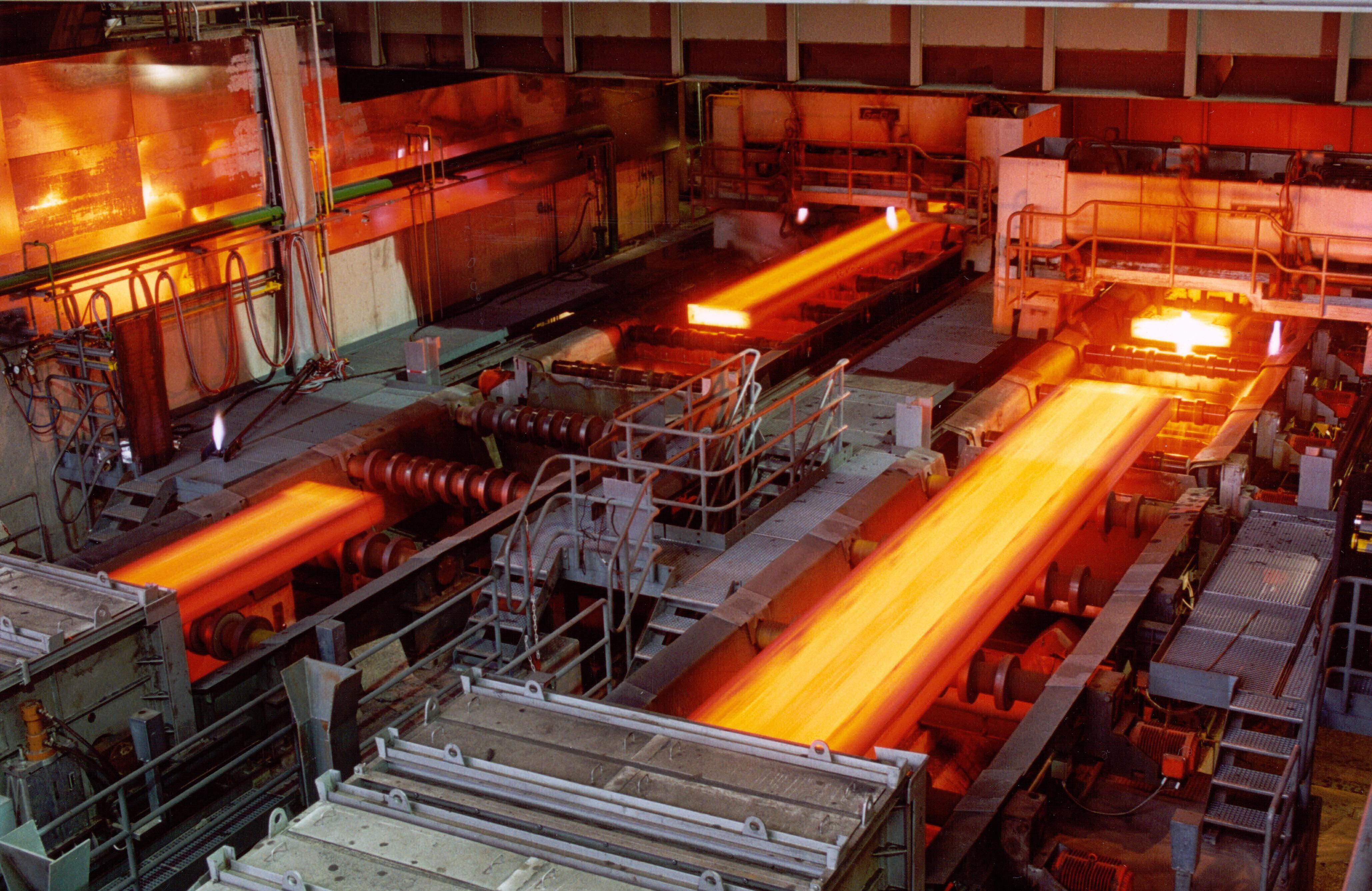 Xử lý chất thải trong các nhà máy luyện gang thép